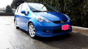 2008 Honda Fit Sport with extras