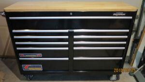 base etablie MAXIMUM 56 pouces avec top en bois franc