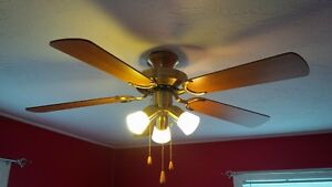 ceilling fan light fixture