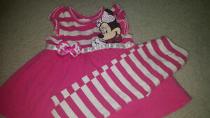 6-12month  baby girl munnie mouse outfit EUC