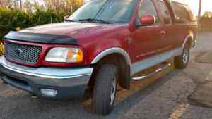 Ford F150,  XLT 4x4 , Pickup Truck 2000, supercab