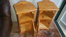 Bedside cupboards