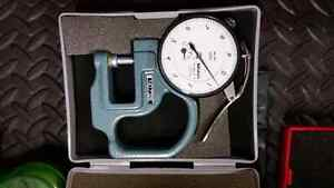 Mitutoyo thickness  gauge dial indicator machinist tool