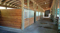 Full care horse board with Indoor arena