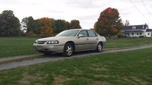 2003 Chevrolet Impala, New tires, $900 Kingston Kingston Area image 2