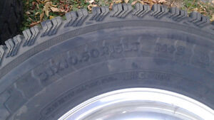 Rare 2007 Ford Ranger OEM Rims And Tires 31x10.50x15