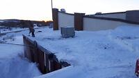 Roof shoveling insured