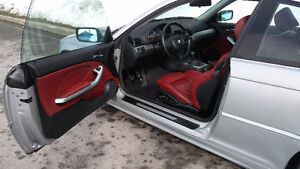 2001 BMW 330ci RED LEATHER, MANUAL