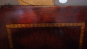 Large solid wood friendship table