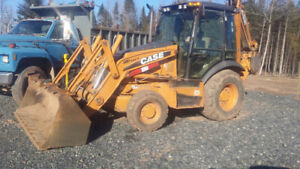 2011 CASE 580SN 4X4 EXTENTED HOE WITH RIDE CONTROL