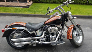 Harley Davidson softail fat boy 2008 22000km