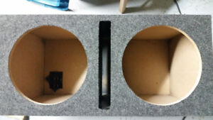 2 x 12in Subwoofer Box - $150 OBO