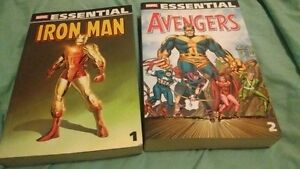 Essential Iron Man Vol 1 / Avengers Vol 2