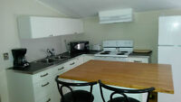 Furnished 1 Bed incl; h/h, a/c, cable & internet. Now Avail