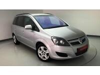 Vauxhall Zafira 1.6i 16v VVT (115ps) Exclusiv PETROL MANUAL 2012/12