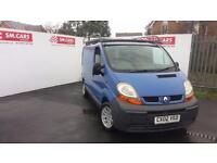 2002 02 RENAULT TRAFIC 1.9 DCi SL27 100 IN BLUE.ALLOY WHEELS,ROOF RACK,TOWBAR