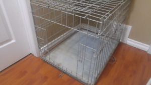 Dog steel crate