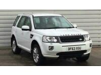 2013 Land Rover Freelander 2.2 TD4 GS 5dr SUV diesel Manual