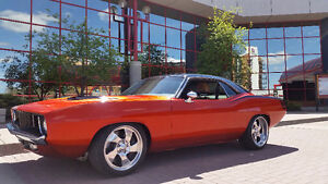 Hemi-CUDA twin turbo RestoMod Pro Touring Car