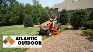 FREE Delivery and 3yr Maint. Pkg on Tractors- Atlantic Outdoor!
