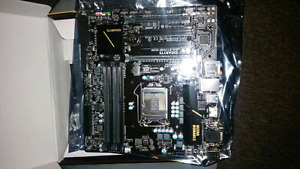 Gigabyte motherboard for  LGA 1151 chipset