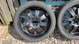 "22"" Incubus EMR alloy wheels"