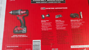 Milwaukee M18 Brushless Drill and Grinder