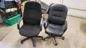 Two office chairs - free