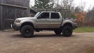 2004 Ford Explorer Sport Trac Pickup Truck Lifted