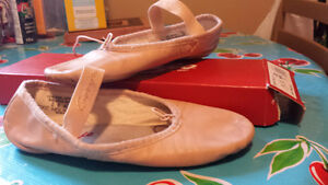 Size 2 pink ballet slippers