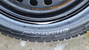HANKOOK snow tires and rims for sale Cambridge Kitchener Area image 3