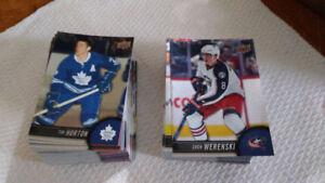 Tim Hortons  UD hockey cards / FULL BASE SET PLUS 2 SUBSETS