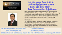 2nd MORTGAGE-PRIVATE from 5.99% only. Call/Text (416) 801-9500
