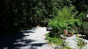 1.13 Acre with newly renovated 1989 mobile home in Yellow Point