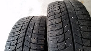 Set of 4 Michelin Winter Tires 215-50-17