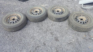 185/70R14 Used Tires - All Season