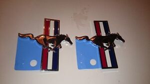 2005-2009 Mustang Pony Fender Emblems