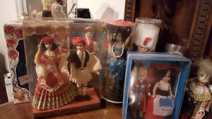 Collection de poupées de plusieurs pays