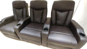 Home Theatre Recliner Chairs