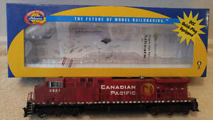 JUST IN...NEW SHIPMENT HO SCALE TRAIN ENGINES AND CARS SALE