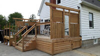 Deck and fencing services