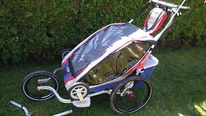 Remorque pour 2 enfants pour vélo Chariot CTS CX2