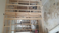 Wood framing/drywall/plaster/painting /renovation