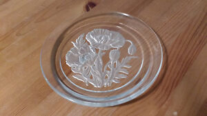 Crystal Plate signed by T Yamamoto