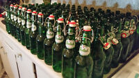 105 Empty Grolsch Swing Top Bottles - 473ml