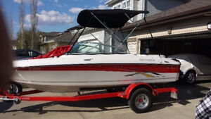 2007 Four Winns H180  boat and trailer