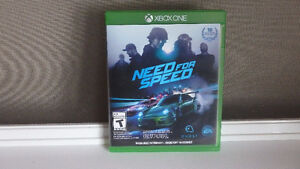 XBOX ONE Need For Speed Game