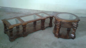 Coffe table and matching end table