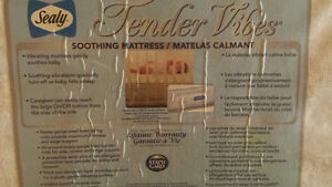 Sealy Tender Vibes Soothing Crib Mattress Strathcona County Edmonton Area image 2