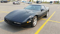 1985 Classic Black on  Black C4 Corvette